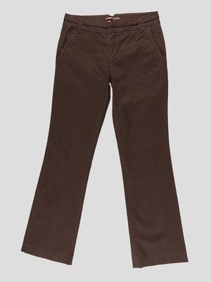 Штани коричневі | 4617330
