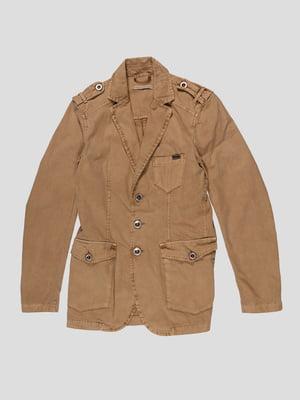 Пиджак бежевый | 4665250