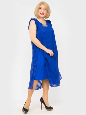 Платье цвета электрик   5057289