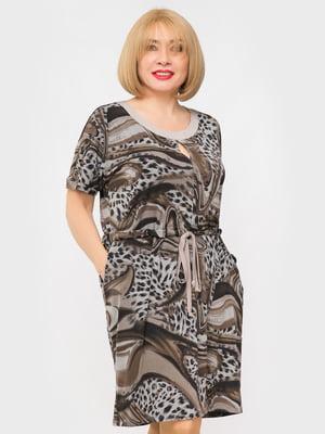 Платье в принт | 5057309