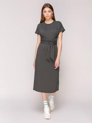 Платье темно-серое - Loca - 5048682
