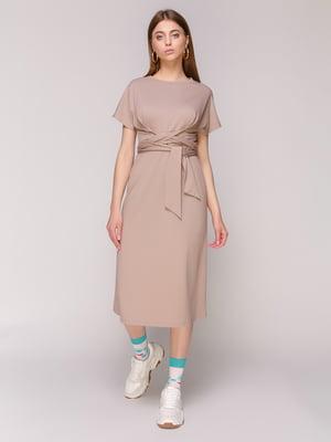 Сукня темно-бежева | 5048684