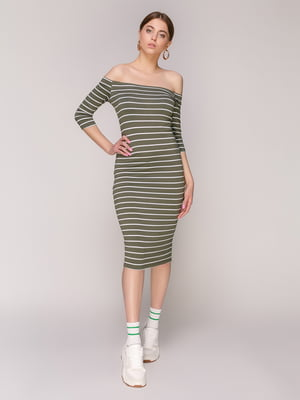 Платье в полоску | 5048688