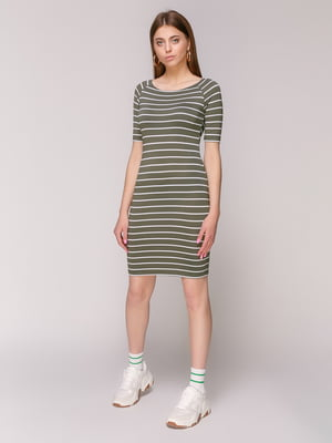 Платье в полоску | 5048689