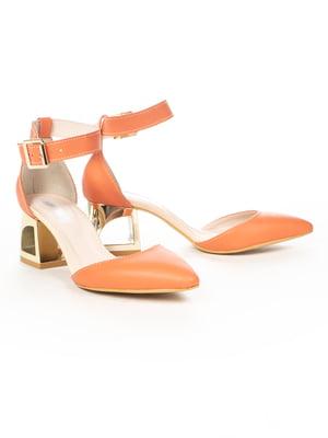 Босоніжки помаранчеві | 5056216