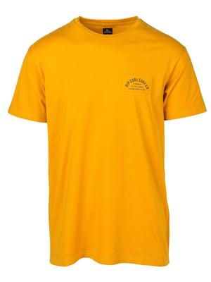 Футболка желтая | 4770410