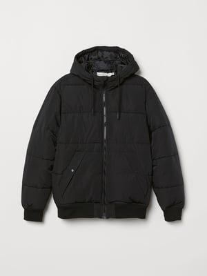 Куртка черная утепленная | 5045350