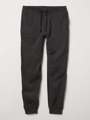 Брюки серые пижамные | 5045673