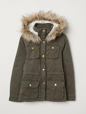 Куртка зелена | 5046170