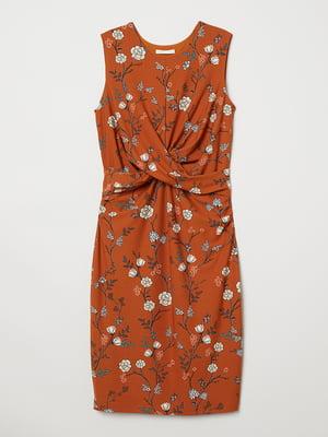 Платье в цветочный принт   5046357