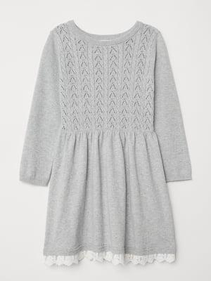 Платье серое | 5046457
