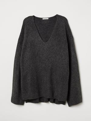 Пуловер сірий | 5046540