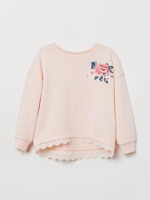 Джемпер розовый | 5046812