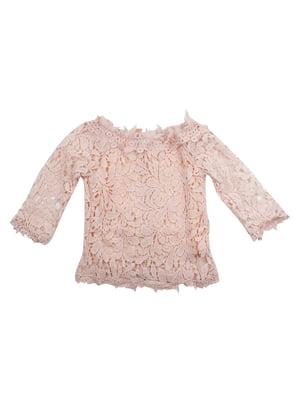 Блуза цвета пудры   5059362