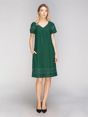 Платье зеленое | 4859243