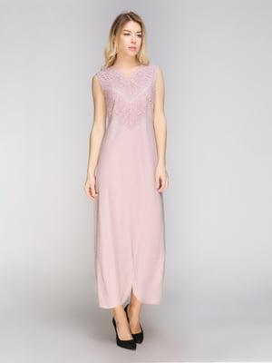 Платье цвета пудры | 5038970