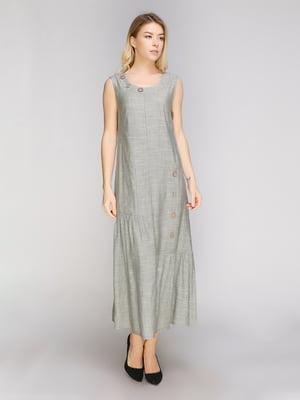 Платье оливкового цвета | 5038985