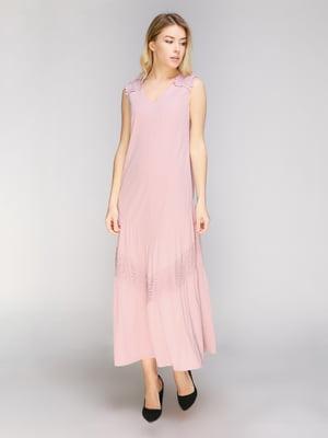 Сукня кольору пудри | 5038986