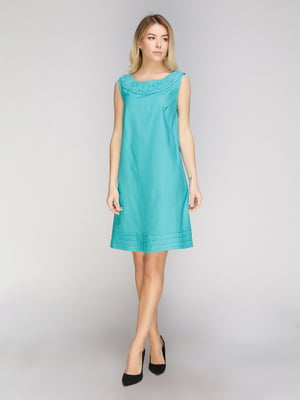 Платье бирюзовое   5038993