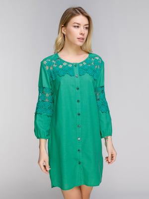Платье зеленое | 5038956
