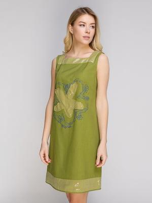 Сукня салатового кольору | 5038949