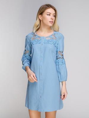 Сукня блакитна | 5038955