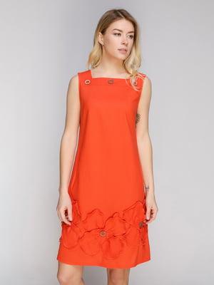 Платье оранжевое | 5038969
