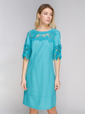 Платье бирюзовое   5038957