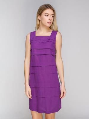 Платье фиолетовое | 5038952
