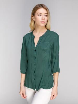 Блуза темно-зеленая | 5038954