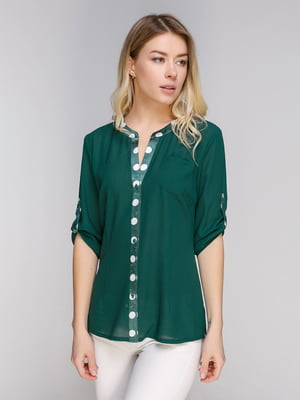 Блуза зеленая | 5038940