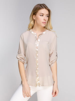 Блуза бежевая | 5038941