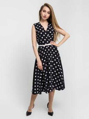 Платье черное в горошек | 5059862