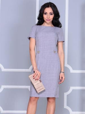 Платье серое | 5060625