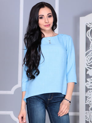 Блуза голубая | 5060634