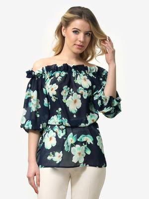 Блуза в квітковий принт | 5061726