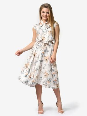 Платье в цветочный принт | 5061739