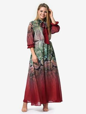 Платье в цветочный принт | 5061742