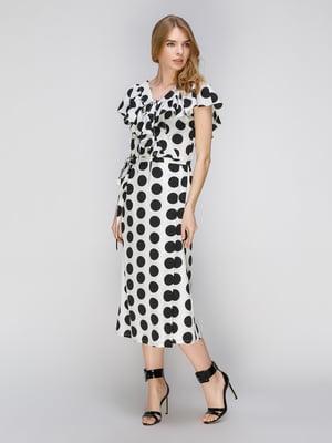 Сукня біла в горох   5056817