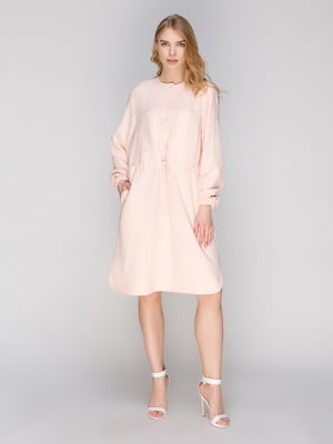 Платье цвета пудры   2249287