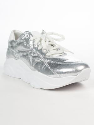 Кроссовки серебристого цвета | 5037412