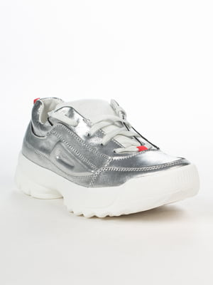 Кроссовки серебристого цвета | 5037409