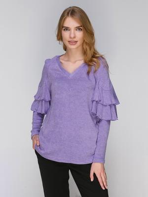 Пуловер бузковий | 3869575