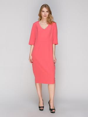 Платье коралловое | 2880774