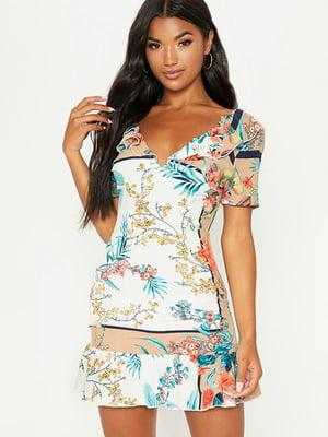 Платье в цветочный принт | 5062706