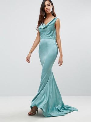 Сукня бірюзова | 5062756