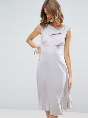 Платье серое | 5062813