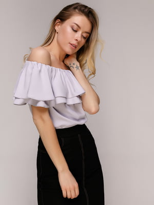 Блуза лавандового кольору | 5058605