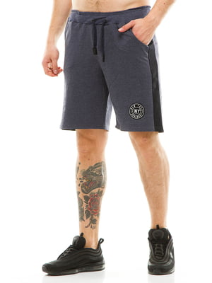 Шорти кольору джинс | 5062976