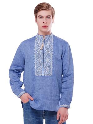 Вишиванка блакитна | 5062421